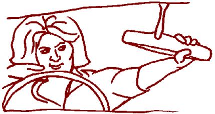 Adjusting Rear Mirror
